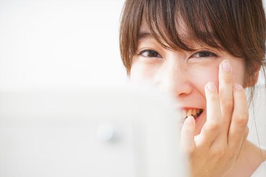 綺麗な白い歯で笑顔であればどんな美人にも負けません!